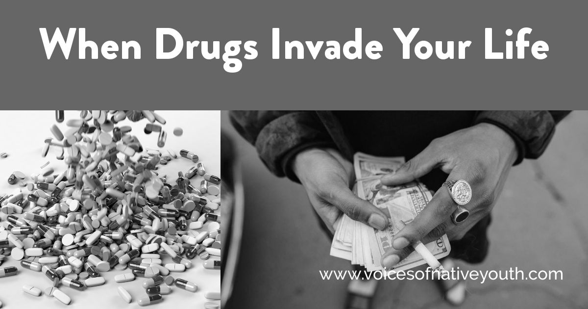 Not everyone realizes what happens when drugs take over your life. Before you experiment with drugs, read this. Hopefully it will change your mind. #drugabuse #nativeyouth #nativeamericans #poverty #health #ownvoices