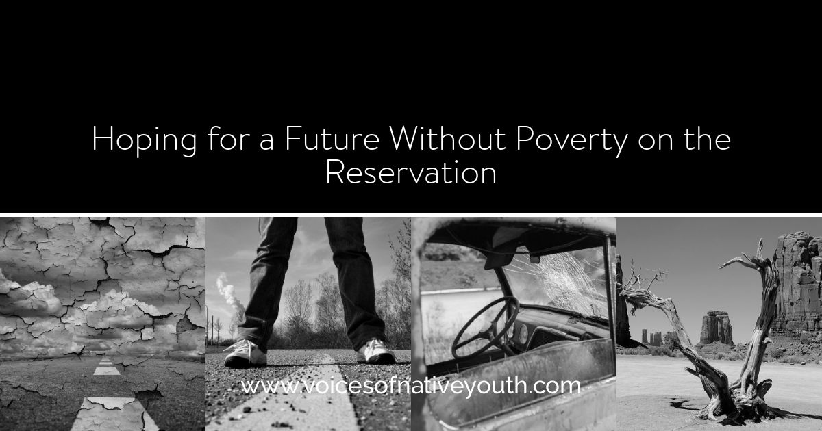 As adults, we may look at poverty on the reservation as a hopeless problem. But what if we changed our attitude and empowered youth? #nativeyouth #navajo #nativeamerican #poverty #change