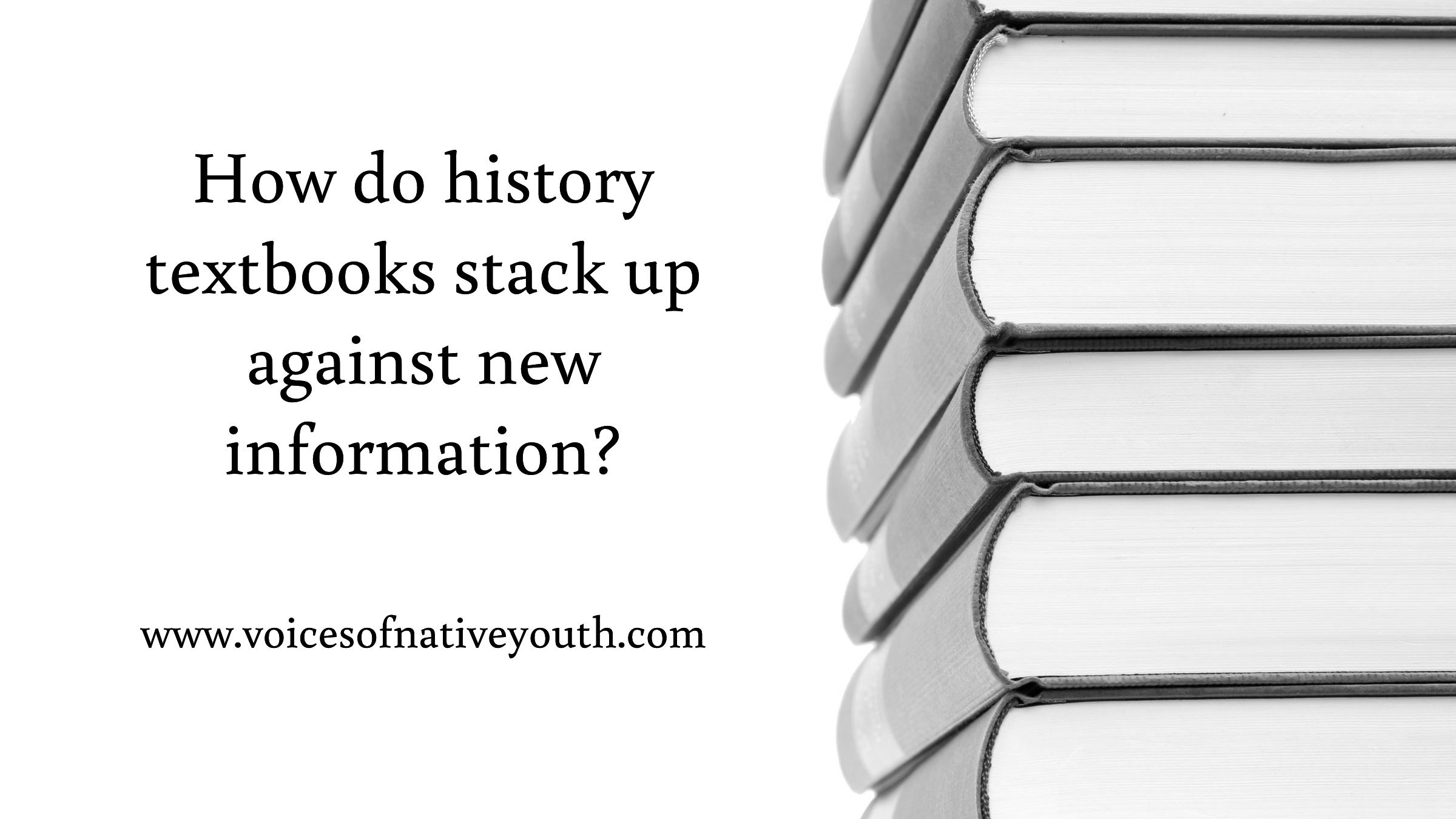 If everything you think you know about Native Americans from from a history textbook, you might want to check your source. Textbooks don't have the final answer. #nativeyouth #nativeamerican #history